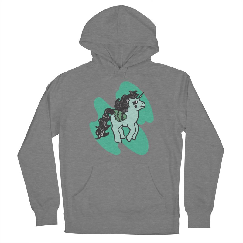 Unicorn Pony Women's Pullover Hoody by irinescu's Artist Shop