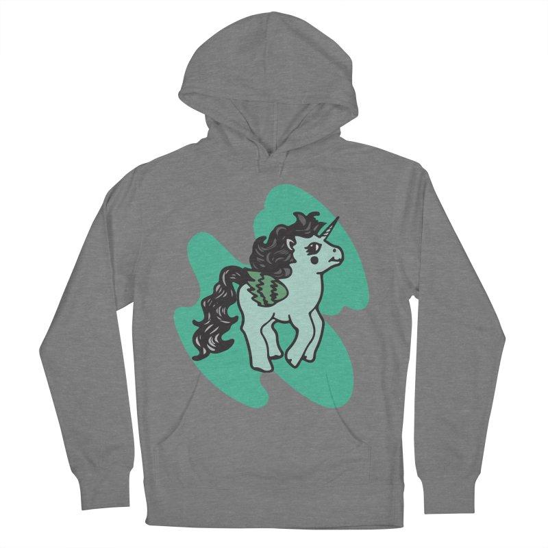 Unicorn Pony Women's Pullover Hoody by irinescu's Artist Shop