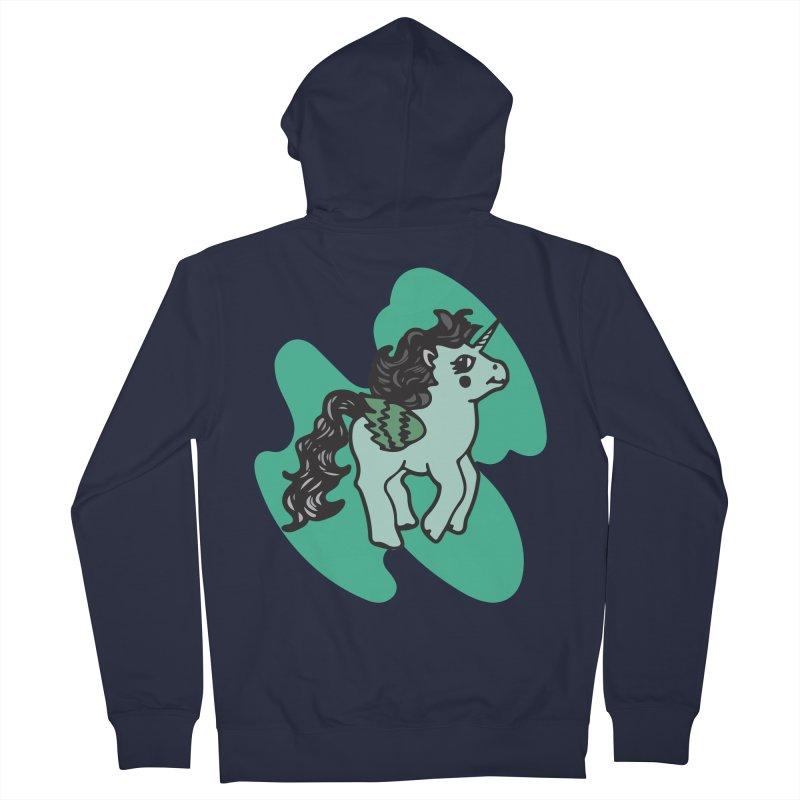 Unicorn Pony Women's Zip-Up Hoody by irinescu's Artist Shop