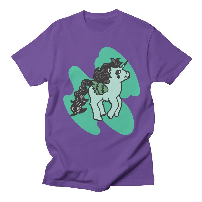 Unicorn Pony Women's T-Shirt by irinescu's Artist Shop