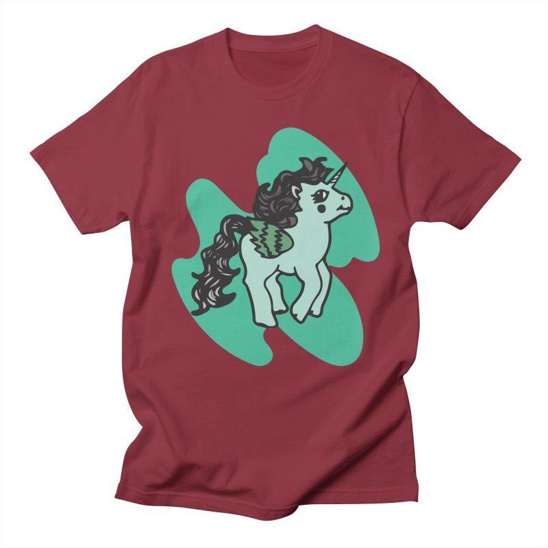 Unicorn Pony Women's Regular Unisex T-Shirt by irinescu's Artist Shop