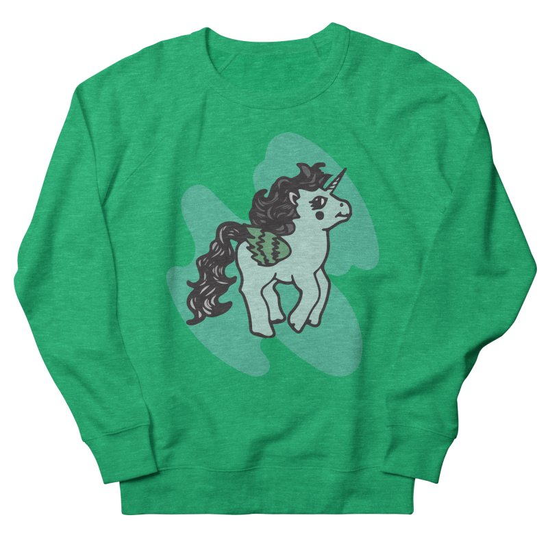 Unicorn Pony Women's Sweatshirt by irinescu's Artist Shop