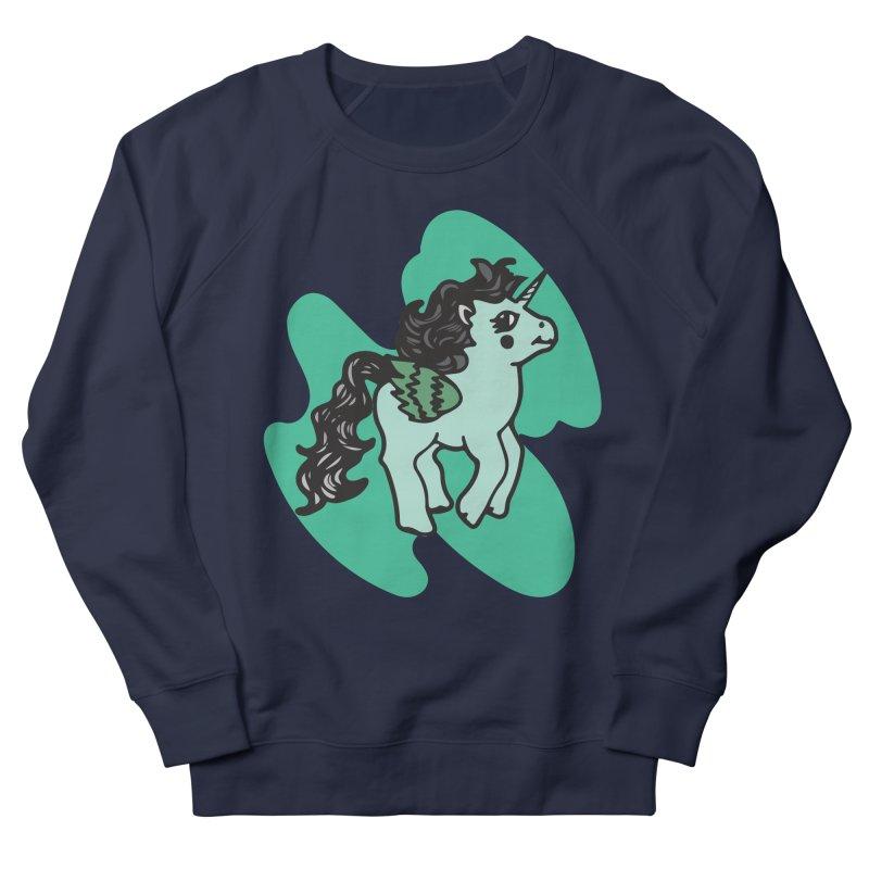 Unicorn Pony Women's French Terry Sweatshirt by irinescu's Artist Shop
