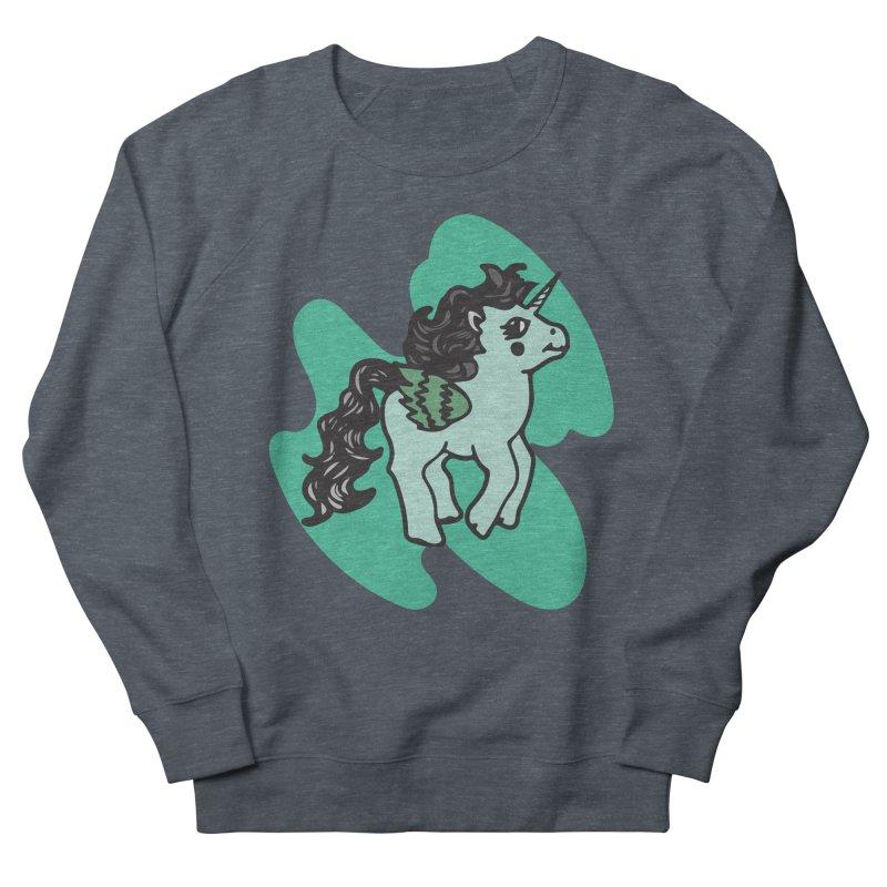 Unicorn Pony Men's Sweatshirt by irinescu's Artist Shop