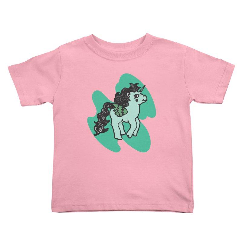 Unicorn Pony Kids Toddler T-Shirt by irinescu's Artist Shop