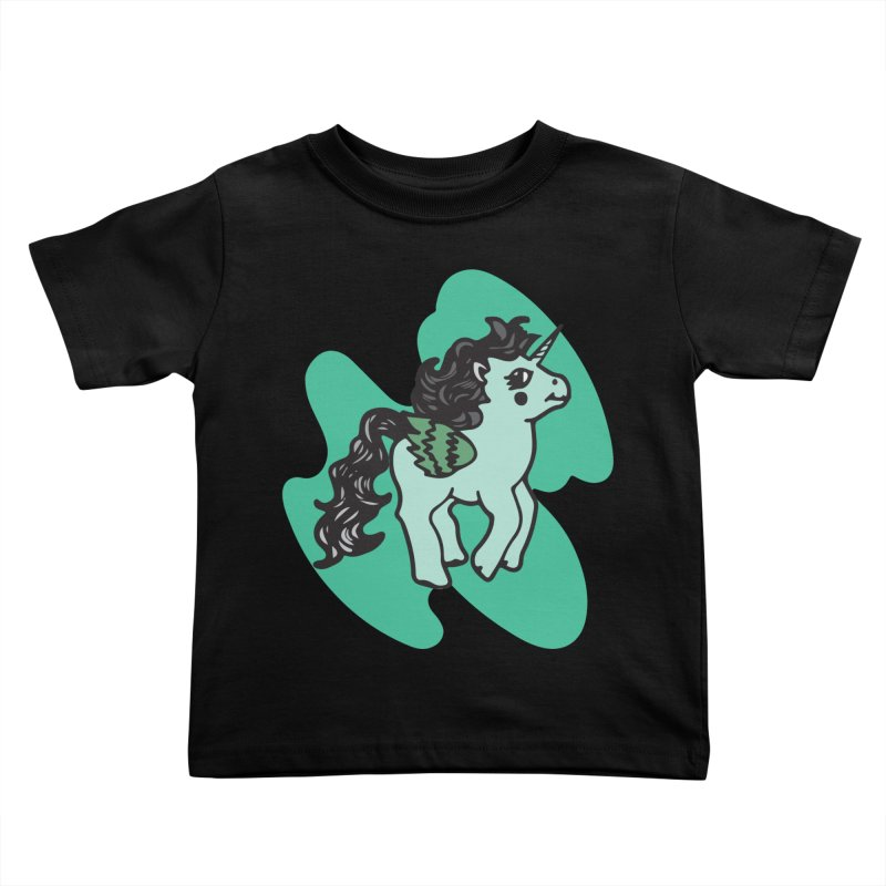 Unicorn Pony Kids Toddler T-Shirt by irinescu's Artist Shop