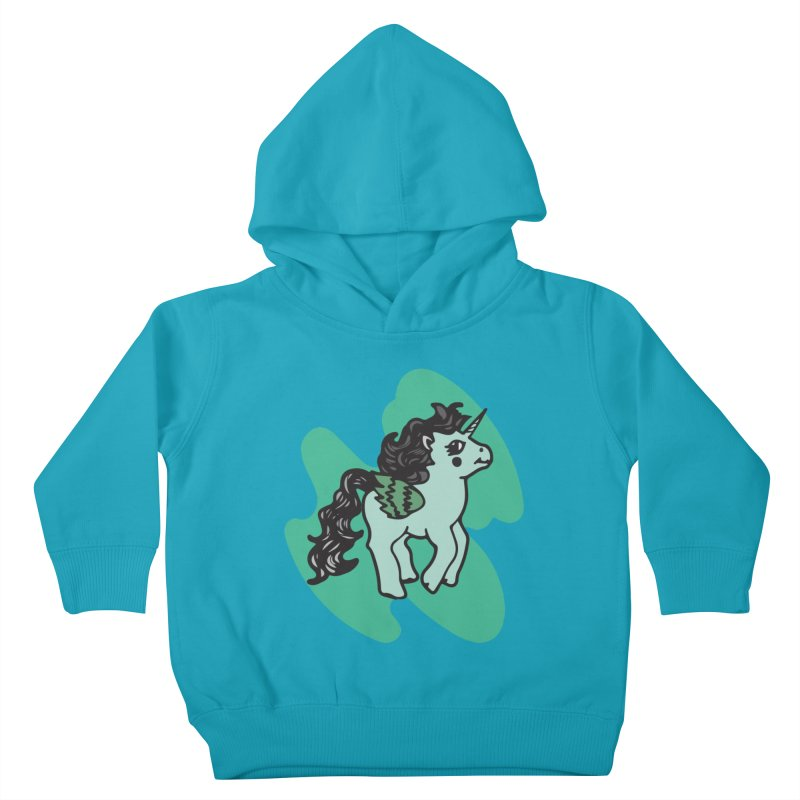 Unicorn Pony Kids Toddler Pullover Hoody by irinescu's Artist Shop