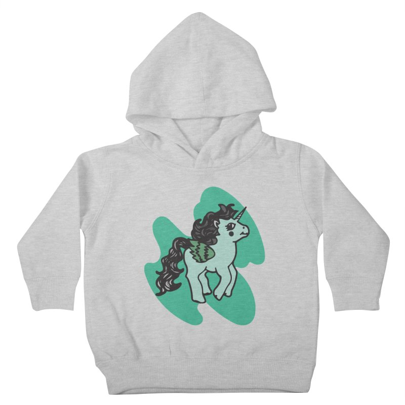 Unicorn Pony Kids Toddler Pullover Hoody by irinescu's Artist Shop