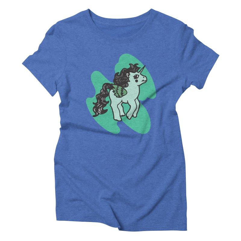Unicorn Pony Women's T-Shirt by irinescu's Artist Shop