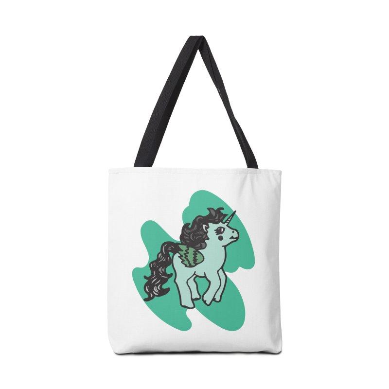 Unicorn Pony Accessories Bag by irinescu's Artist Shop