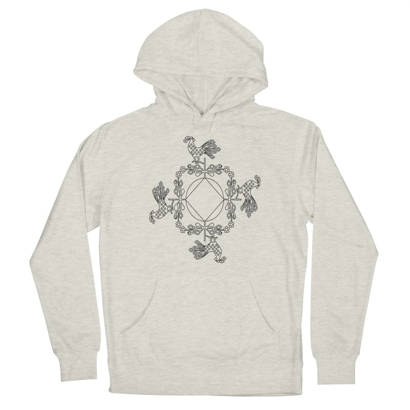 Traditional Rooster Men's Pullover Hoody by irinescu's Artist Shop
