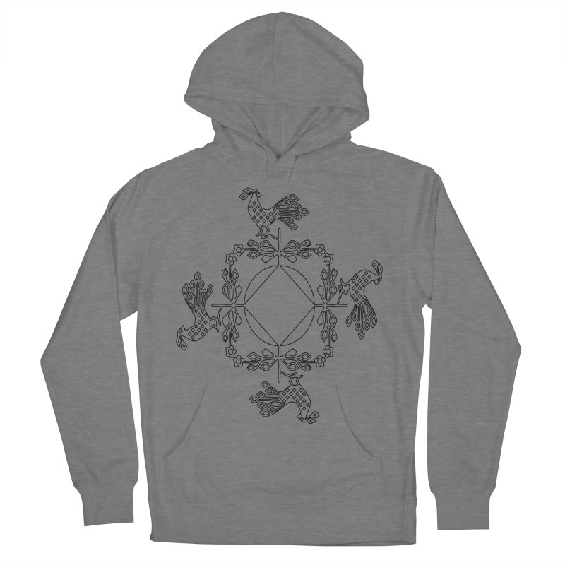 Traditional Rooster Women's Pullover Hoody by irinescu's Artist Shop