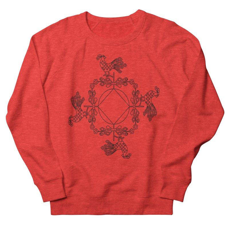Traditional Rooster Men's Sweatshirt by irinescu's Artist Shop