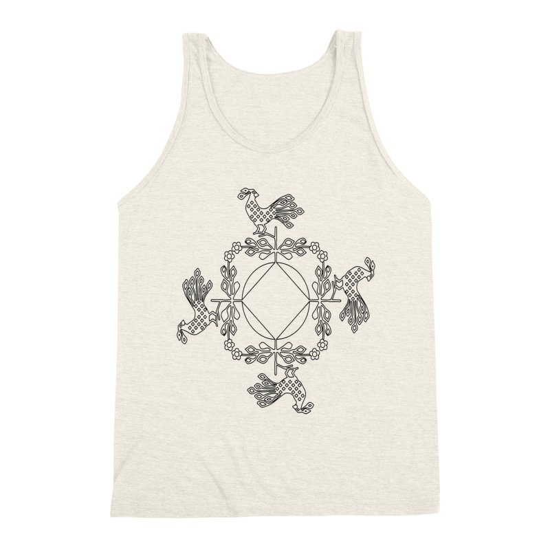 Traditional Rooster Men's Tank by irinescu's Artist Shop