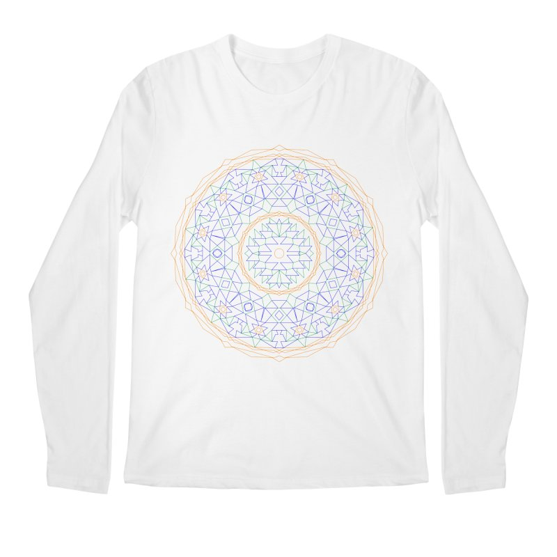 c i r c u l a r in color Men's Longsleeve T-Shirt by irinescu's Artist Shop