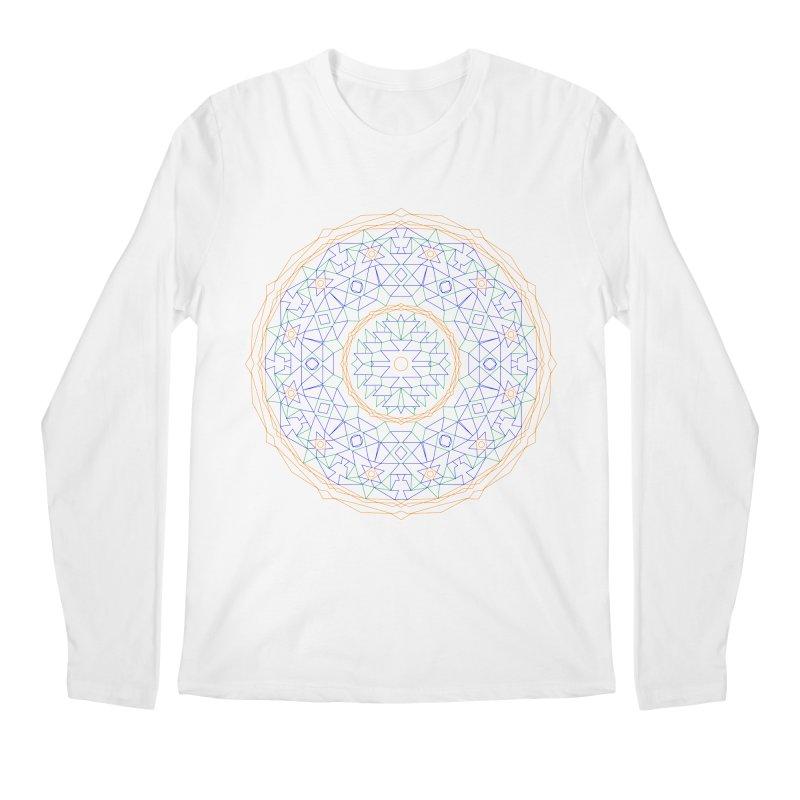 c i r c u l a r in color Men's Regular Longsleeve T-Shirt by irinescu's Artist Shop