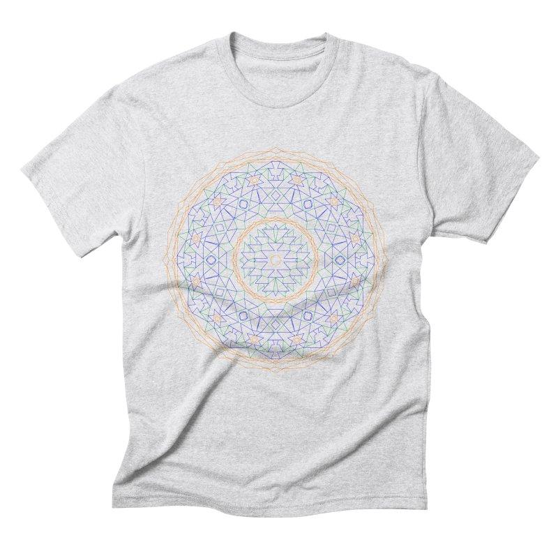 c i r c u l a r in color Men's T-Shirt by irinescu's Artist Shop