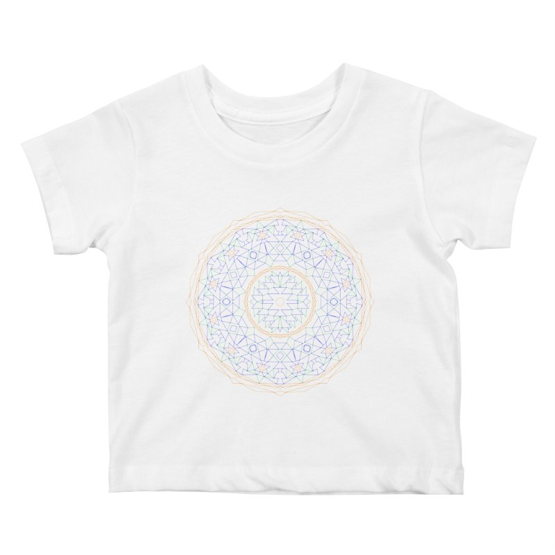 c i r c u l a r in color Kids Baby T-Shirt by irinescu's Artist Shop