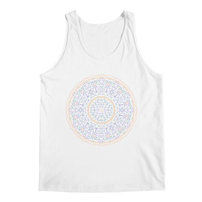 c i r c u l a r in color Men's Tank by irinescu's Artist Shop