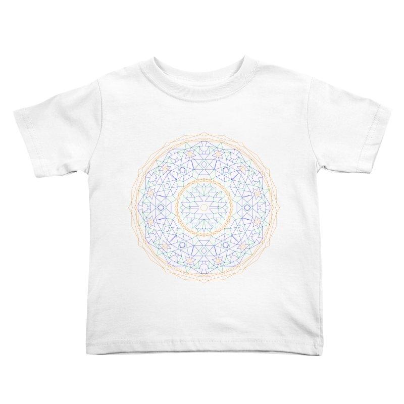c i r c u l a r in color Kids Toddler T-Shirt by irinescu's Artist Shop