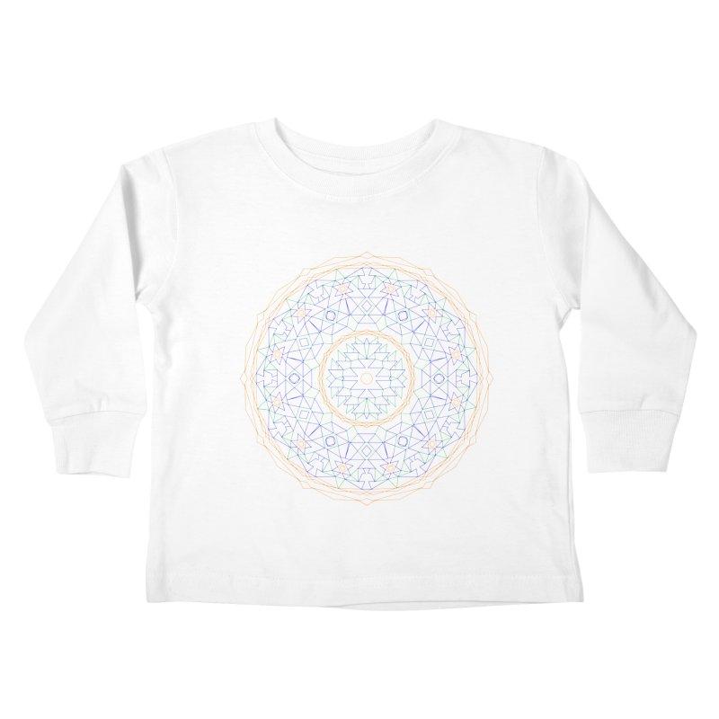 c i r c u l a r in color Kids Toddler Longsleeve T-Shirt by irinescu's Artist Shop