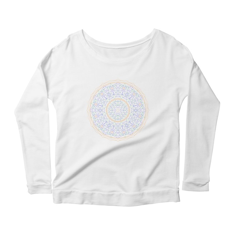 c i r c u l a r in color Women's Longsleeve T-Shirt by irinescu's Artist Shop