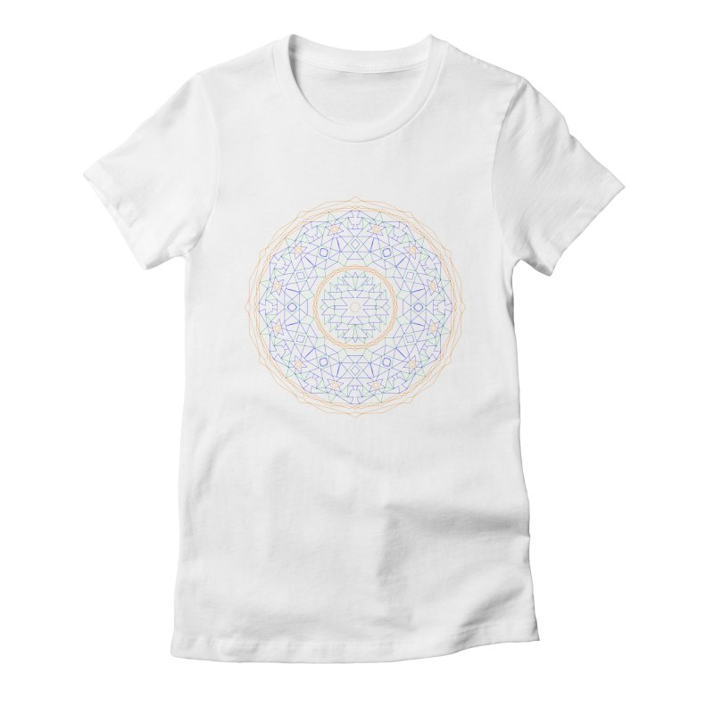 c i r c u l a r in color Women's T-Shirt by irinescu's Artist Shop