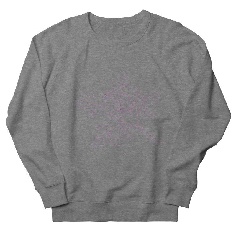 vintage rose Women's French Terry Sweatshirt by irinescu's Artist Shop