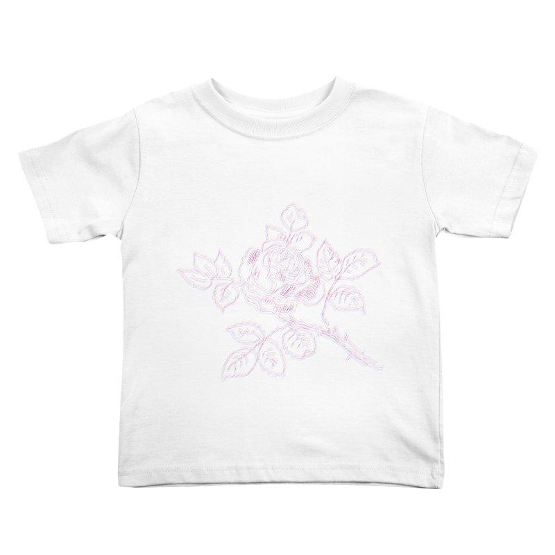 vintage rose Kids Toddler T-Shirt by irinescu's Artist Shop