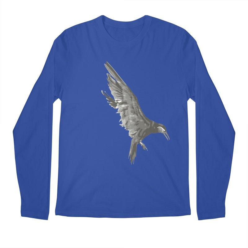 b i r d Men's Longsleeve T-Shirt by irinescu's Artist Shop