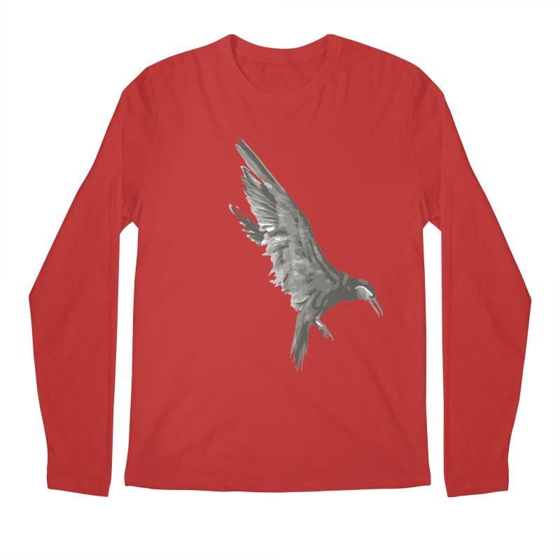 b i r d Men's Regular Longsleeve T-Shirt by irinescu's Artist Shop