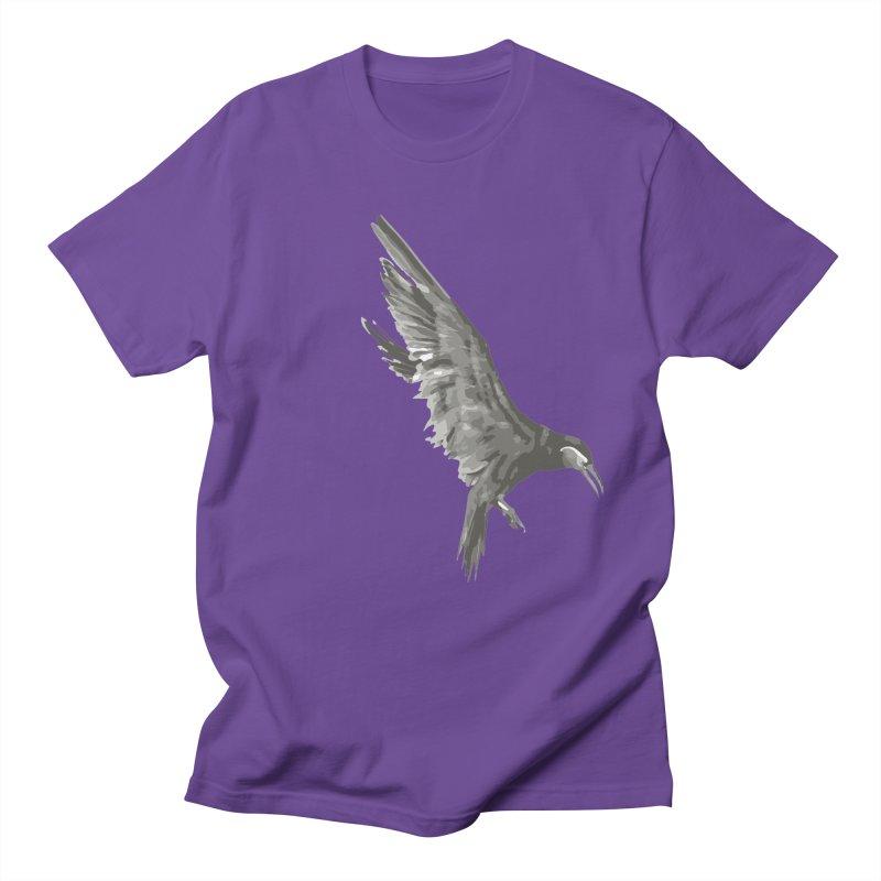 b i r d Men's Regular T-Shirt by irinescu's Artist Shop