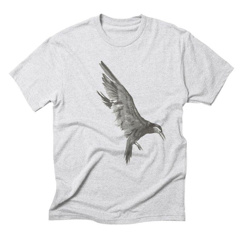 b i r d Men's T-Shirt by irinescu's Artist Shop
