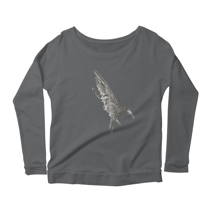 b i r d Women's Longsleeve T-Shirt by irinescu's Artist Shop