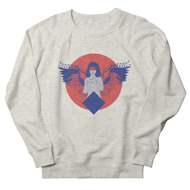 the strange Women's French Terry Sweatshirt by irinescu's Artist Shop