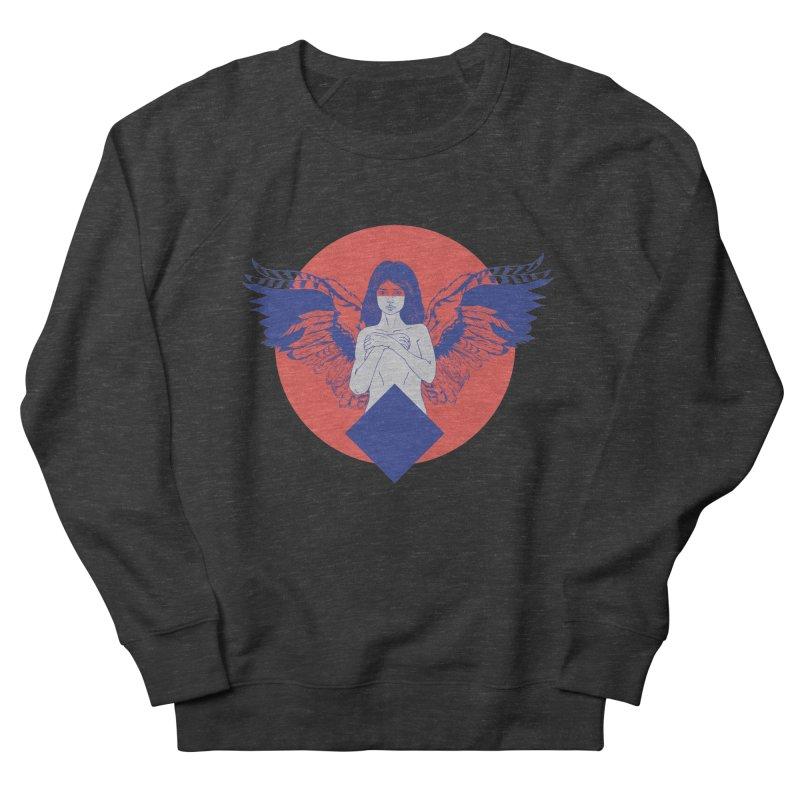 the strange Men's French Terry Sweatshirt by irinescu's Artist Shop
