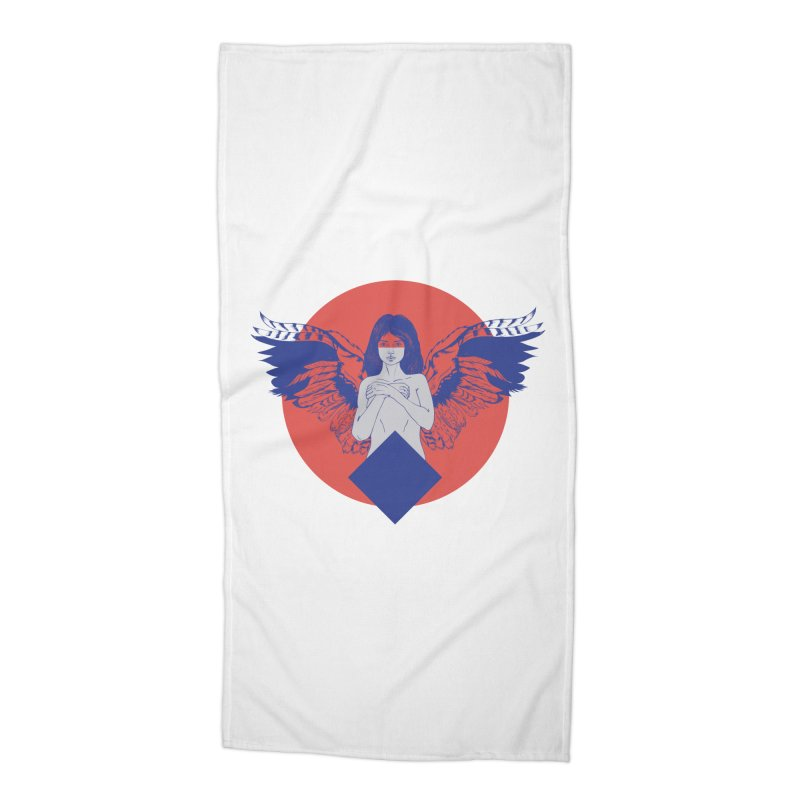 the strange Accessories Beach Towel by irinescu's Artist Shop