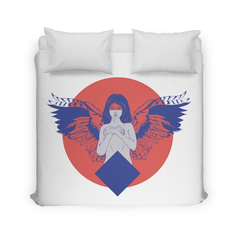 the strange Home Duvet by irinescu's Artist Shop