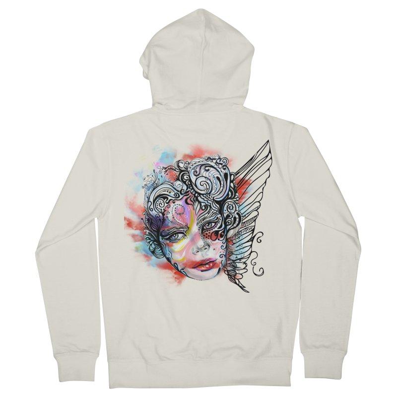 Angel Women's Zip-Up Hoody by irmaksdesign's Artist Shop