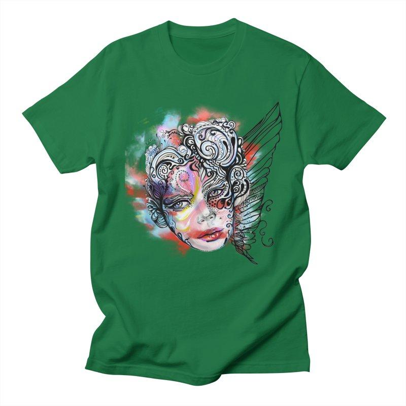 Angel Men's T-Shirt by irmaksdesign's Artist Shop