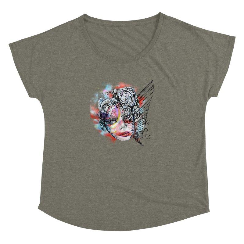 Angel Women's Dolman by irmaksdesign's Artist Shop