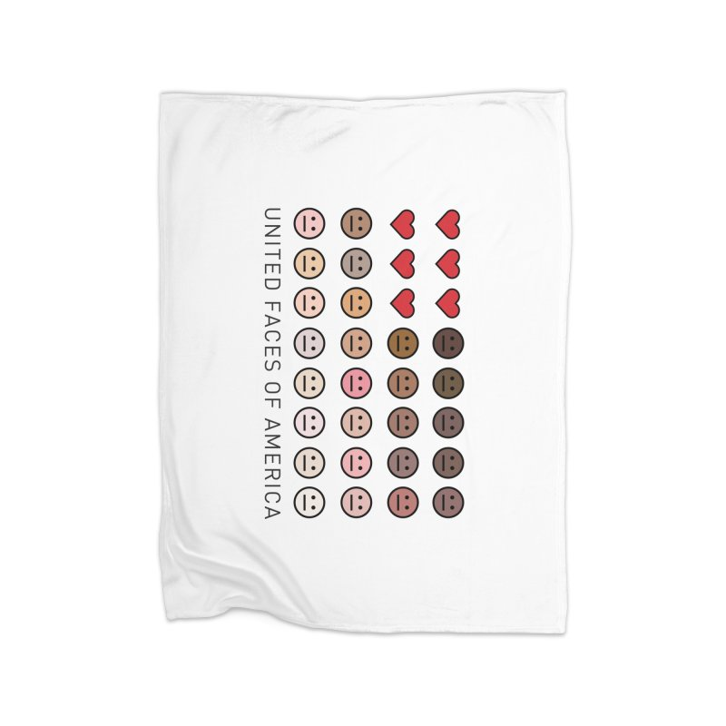 United Faces of America Home Blanket by ironblender