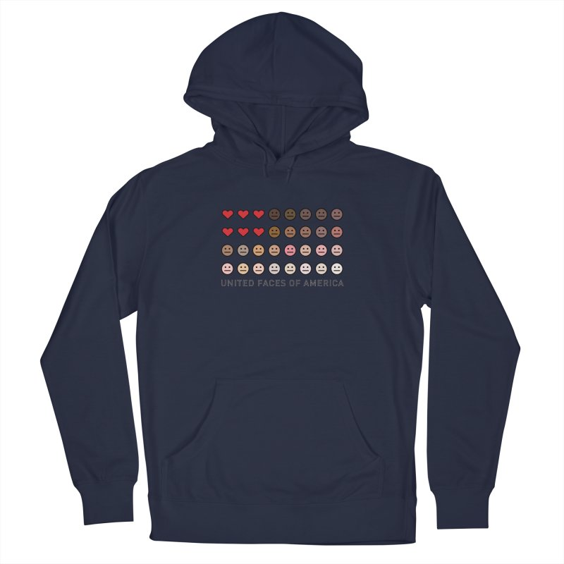 United Faces of America Women's Pullover Hoody by ironblender