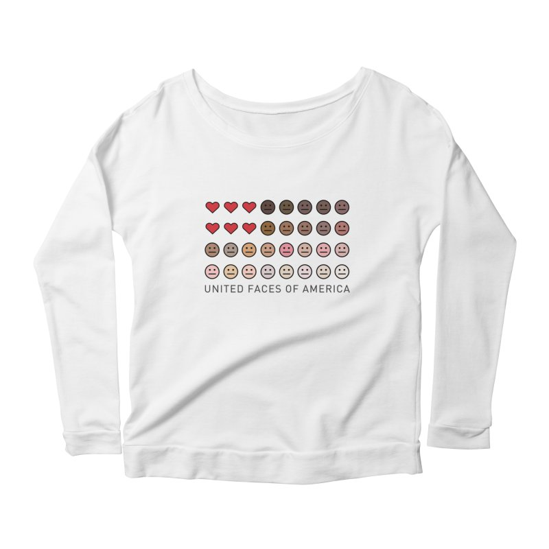 United Faces of America Women's Longsleeve T-Shirt by ironblender