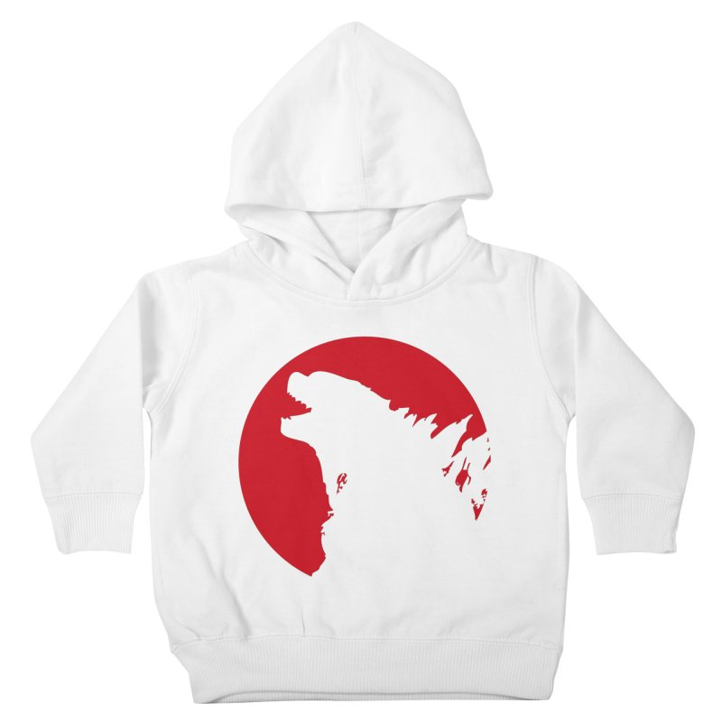 Godzy's Red Moon Kids Toddler Pullover Hoody by IRONSAURUS SHOP