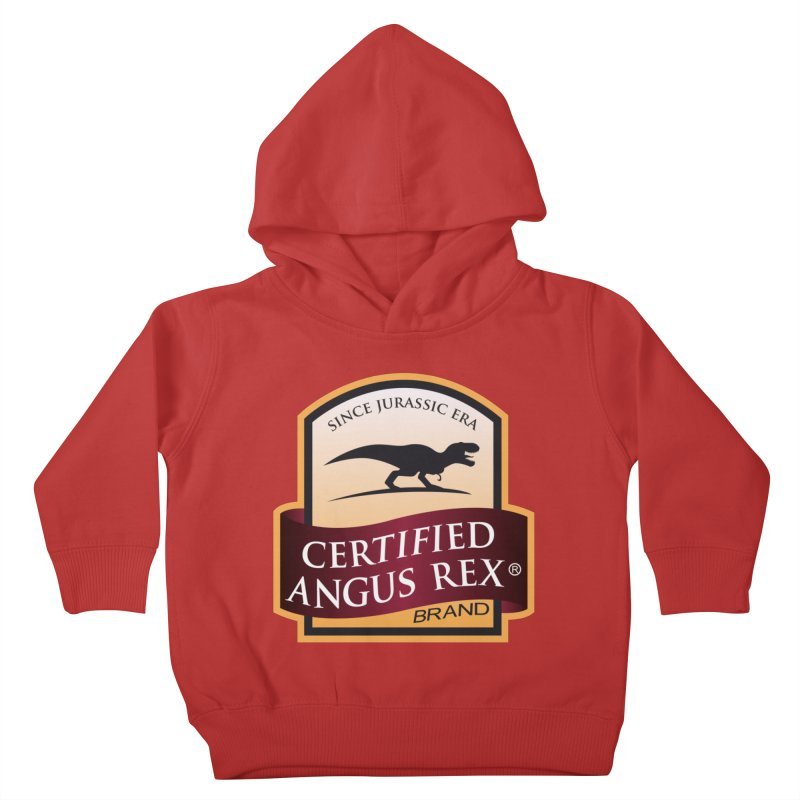 Certified Angus Rex Kids Toddler Pullover Hoody by IRONSAURUS SHOP