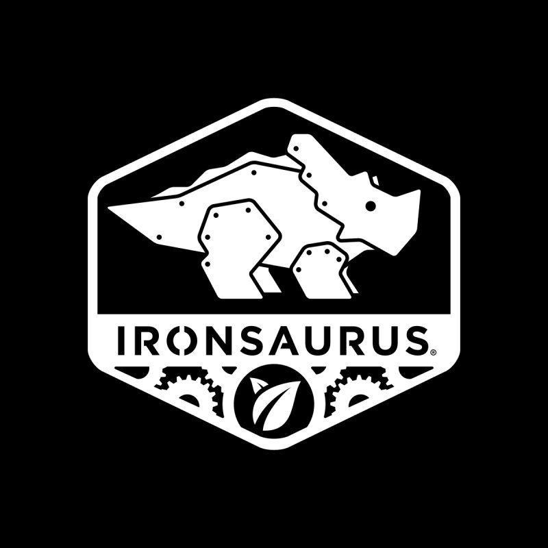 IRONSAURUS Oficial Brand Men's Triblend T-shirt by IRONSAURUS SHOP