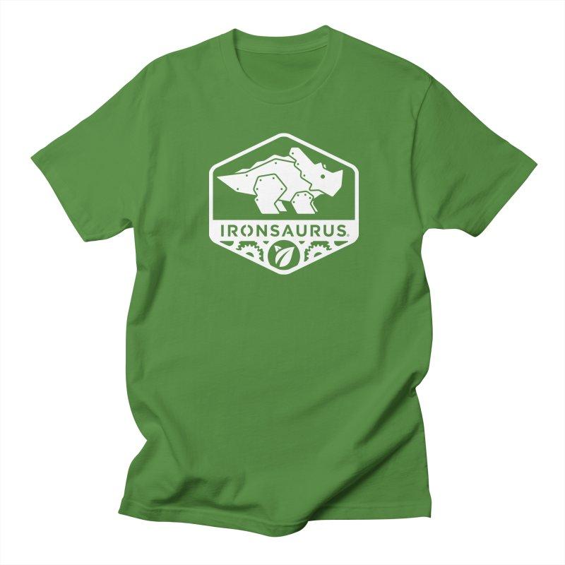 IRONSAURUS Oficial Brand Men's T-shirt by IRONSAURUS SHOP