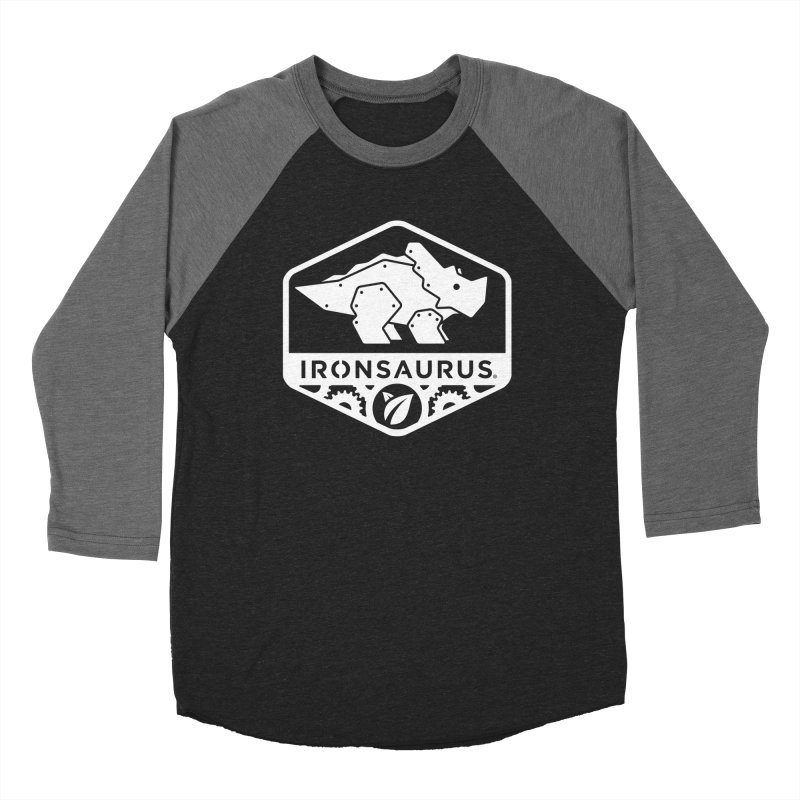 IRONSAURUS Oficial Brand Men's Baseball Triblend T-Shirt by IRONSAURUS SHOP
