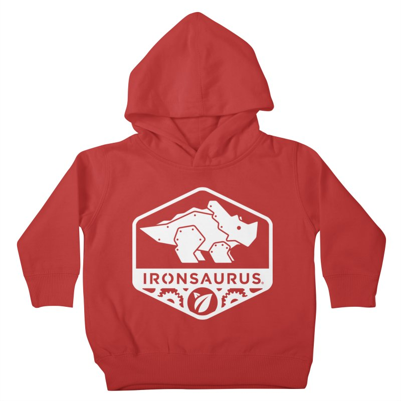 IRONSAURUS Oficial Brand Kids Toddler Pullover Hoody by IRONSAURUS SHOP